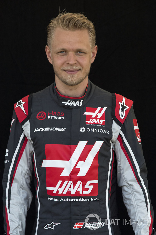 Kevin Magnussen, Haas F1 Romain Grosjean, Haas F1