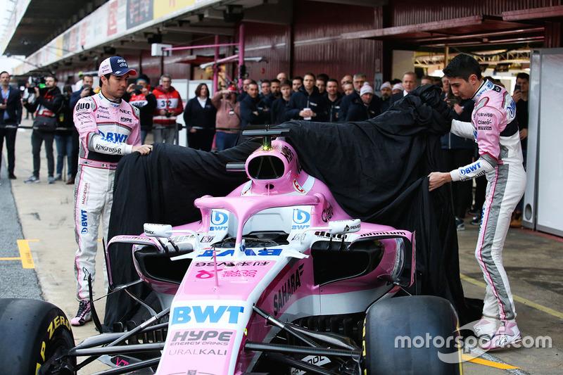 Esteban Ocon, Sahara Force India F1 ve Sergio Perez, Sahara Force India
