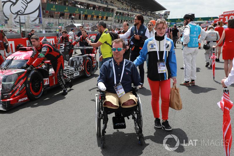 Frédéric Sausset on the grid
