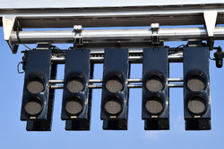 Start light gantry