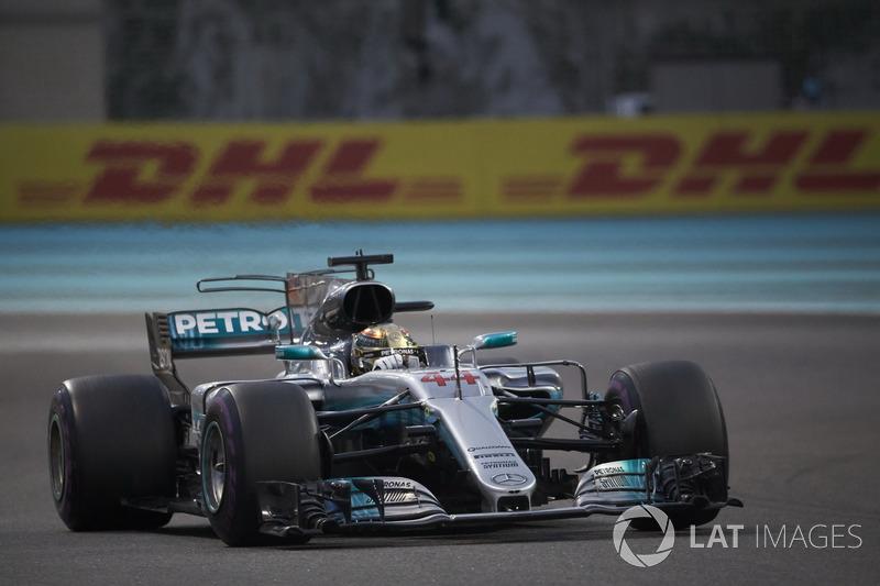 2017: Mercedes AMG F1 W08 Hybrid