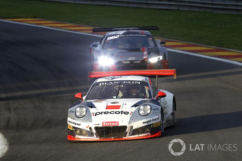 #912 Herberth Motorsport Porsche 991 GT3 R: Даніель Алеман, Ральф Бон, Свен Мюллер, Матьйо Жаміне