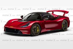 Dallara, rendering Motor1