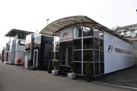 F1 Experiences, motorhome