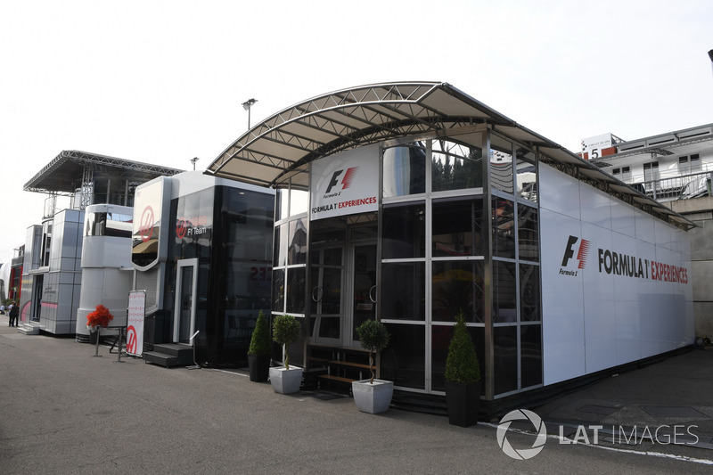 F1 Experiences motorhome