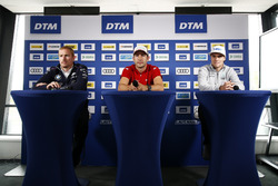 Conferenza stampa: Maxime Martin, BMW Team RBM, BMW M4 DTM, Mike Rockenfeller, Audi Sport Team Phoenix, Audi RS 5 DTM, Lucas Auer, Mercedes-AMG Team HWA, Mercedes-AMG C63 DTM