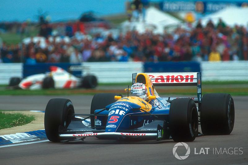 GP Großbritannien: Platz 1