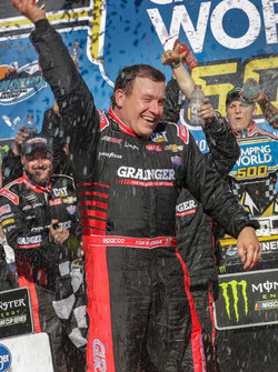 Race winner Ryan Newman, Richard Childress Racing Chevrolet