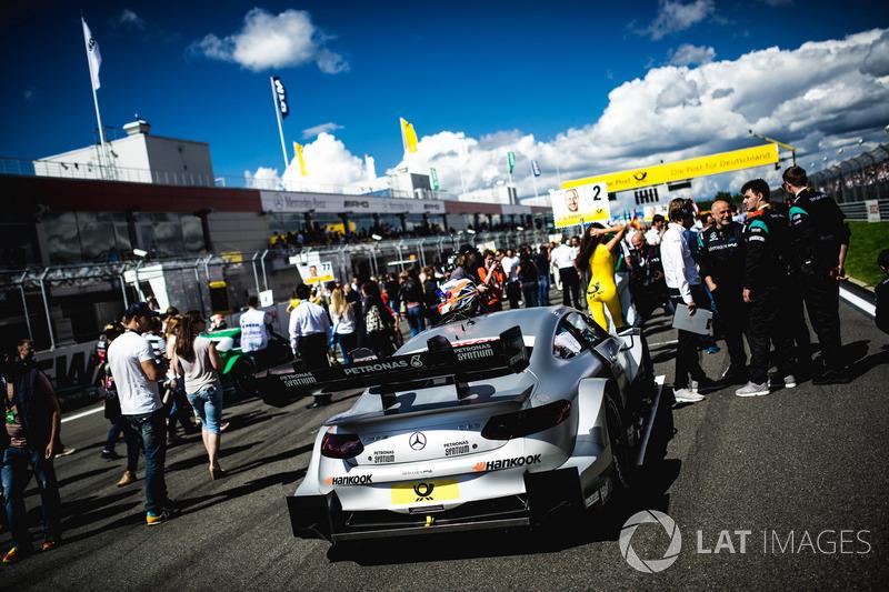 Coche de Gary Paffett, Mercedes-AMG Team HWA, Mercedes-AMG C63 DTM