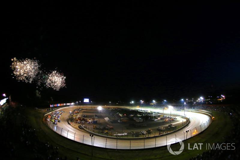 Feuerwerk am Eldora Speedway