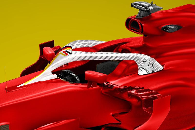 Sebastian Vettel, Ferrari Halo