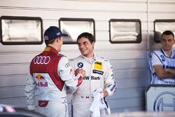 Mattias Ekström, Audi Sport Team Abt Sportsline, Audi A5 DTM en Bruno Spengler, BMW Team RBM, BMW M4