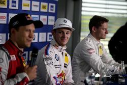Маттиас Экстрём, Audi Sport Team Abt Sportsline, Audi RS5 DTM, и Марко Виттман, BMW Team RMG, BMW M4 DTM