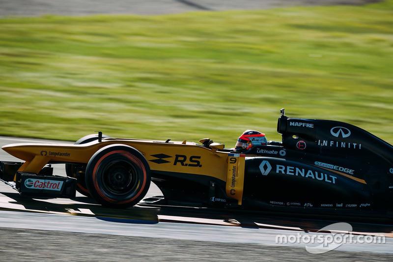 Роберт Кубица впервые с 2010 года тестирует машину Ф1