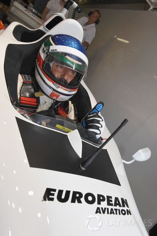 Ivan Capelli, F1 Experiences 2-Seater Driver