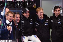Sergio Perez, Sahara Force India and mechanics