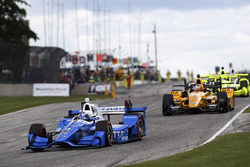 Scott Dixon, Chip Ganassi Racing Honda Graham Rahal, Rahal Letterman Lanigan Racing Honda