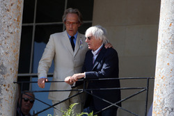Lord Charles March and Bernie Ecclestone
