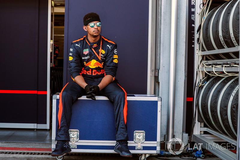 Red Bull Racing Mecánico