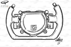 Jordan 197 steering wheel