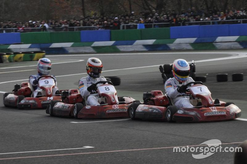 Fernando Alonso, Stoffel Vandoorne, Takuma Sato