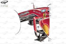 Ferrari SF15-T front suspension