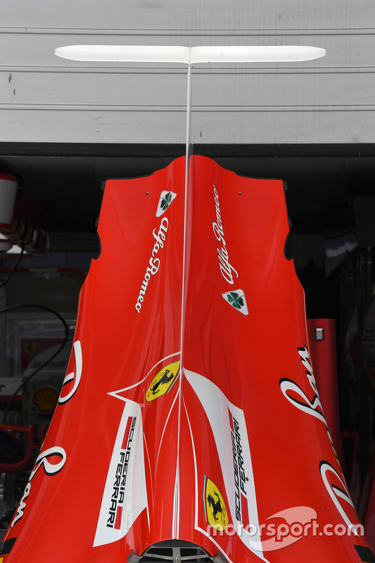 Ferrari SF70H body work detail