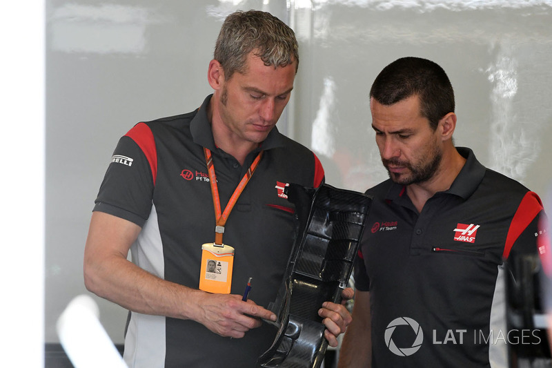 Stuart Cramp, Haas F1 Team jefe de mecánicos
