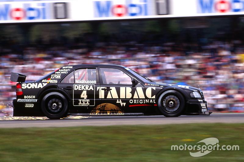 DTM, Hockenheim 1995: Jan Magnussen, AMG, Mercedes C-Klasse