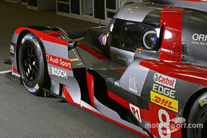 #8 Audi Sport Team Joest Audi R18