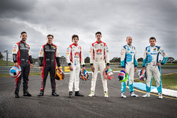 Ash Walsh, Brad Jones Racing Holden, Tim Slade, Brad Jones Racing Holden, Macauley Jones, Brad Jones Racing Holden, Nick Percat, Brad Jones Racing Holden, Tim Blanchard, Brad Jones Racing Holden, Todd Hazelwood, Brad Jones Racing Holden