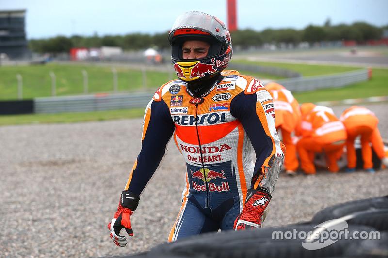 Accidente de Marc Marquez, Repsol Honda Team