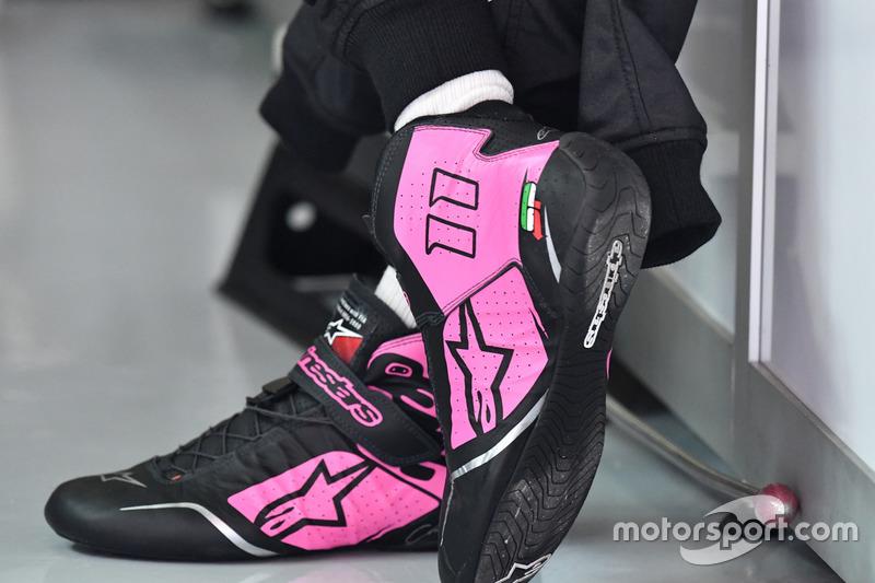 Ботинки Серхио Переса, Sahara Force India F1