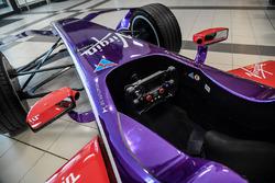 DS Virgin Racing, detail van de cockpit