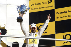 Podium: le troisième Timo Glock, BMW Team RMG, BMW M4 DTM