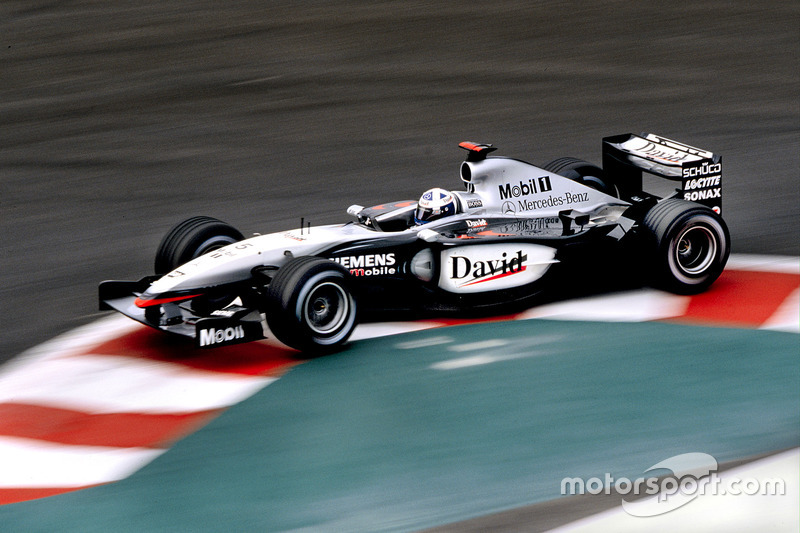David Coulthard, Team McLaren Mercedes MP4-17D