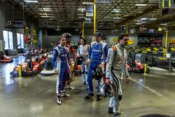 Robin Frijns, Amlin Andretti Formula E Team; Daniel Abt, ABT Schaeffler Audi Sport; Bono Huis, Farad