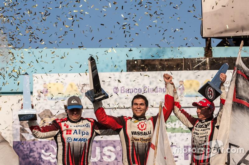 Guillermo Ortelli, Valentin Aguirre, Diego Martinez, JP Carrera Chevrolet