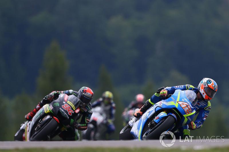 Алекс Рінс, Team Suzuki MotoGP, Йонас Фольгер, Monster Yamaha Tech 3