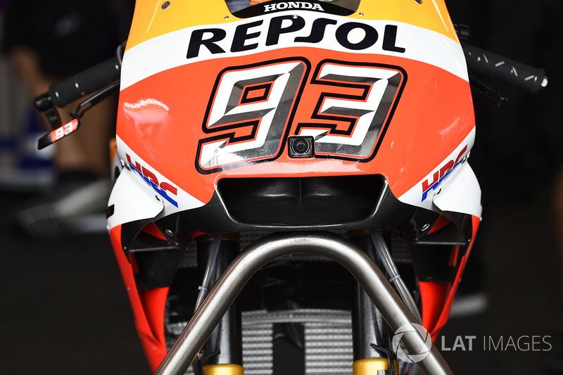 Новий обтічник на мотоциклі Марка Маркеса, Repsol Honda Team
