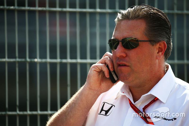 Исполнительный директор McLaren Зак Браун