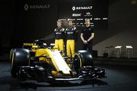 Nico Hulkenberg, Renault Sport F1 Team Jolyon Palmer, Renault Sport F1 Team ve Sergey Sirotkin