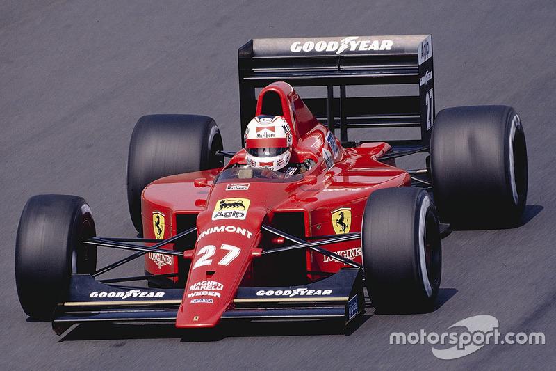 1989: Ferrari 640 (три победы, 3-е место в КК)