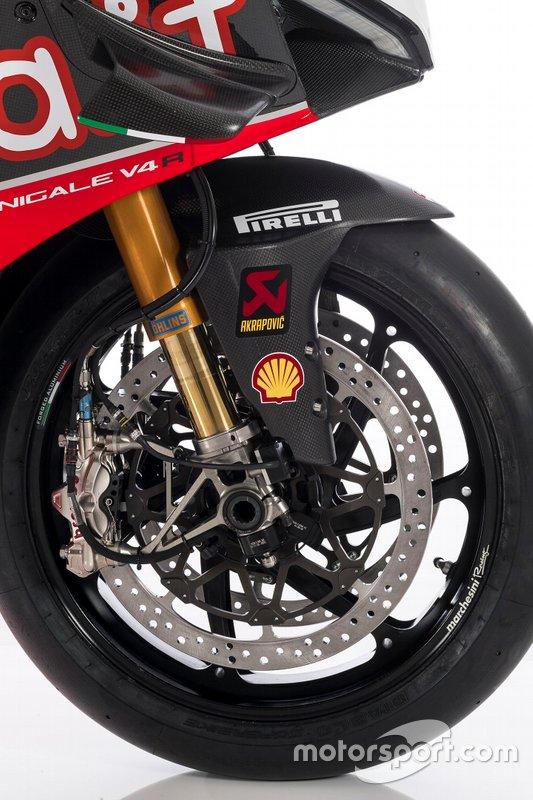 Aruba.it Racing-Ducati SBK Team, Ducati Panigale V4R, dettaglio