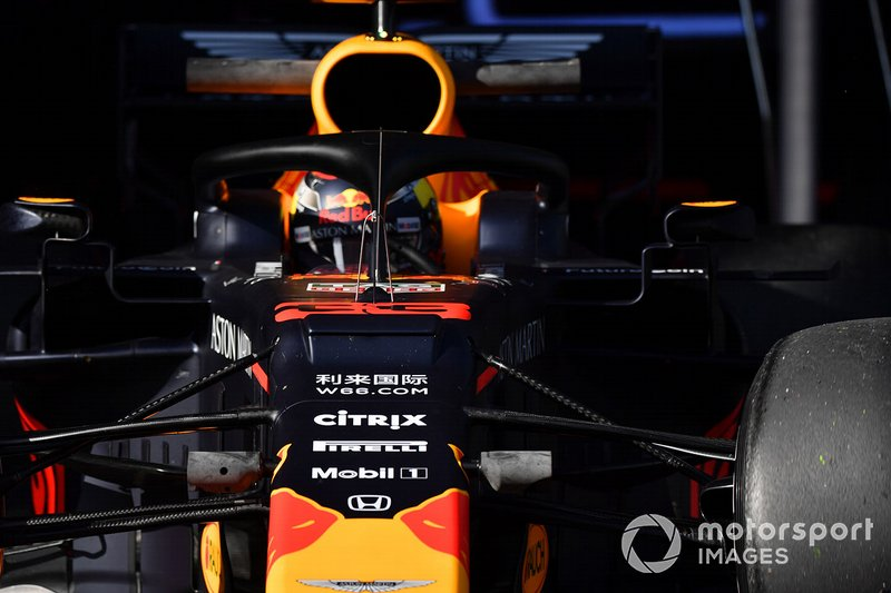 Max Verstappen, Red Bull Racing RB15 aero sensor