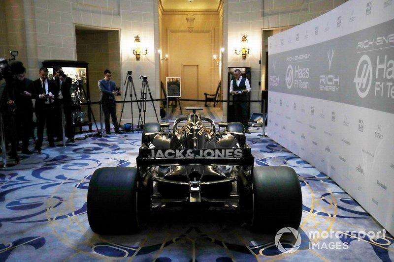 Peluncuran Haas F1 2019