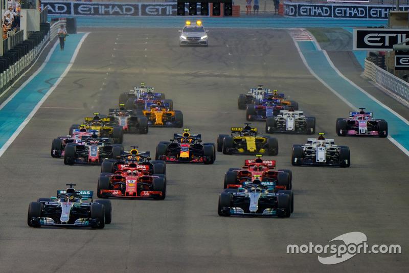 Этот Гран При стал последним для следующих гонщиков: Маркуса Эрикссона (97 Гран При), Стоффеля Вандорна (41 Гран При), Эстебана Окона (50 Гран При), Брендона Хартли (25 Гран При) и Сергея Сироткина (21 Гран При)