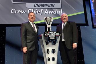 Monster Energy NASCAR Cup Series Champion Crewchief Award: Todd Gordon, Team Penske