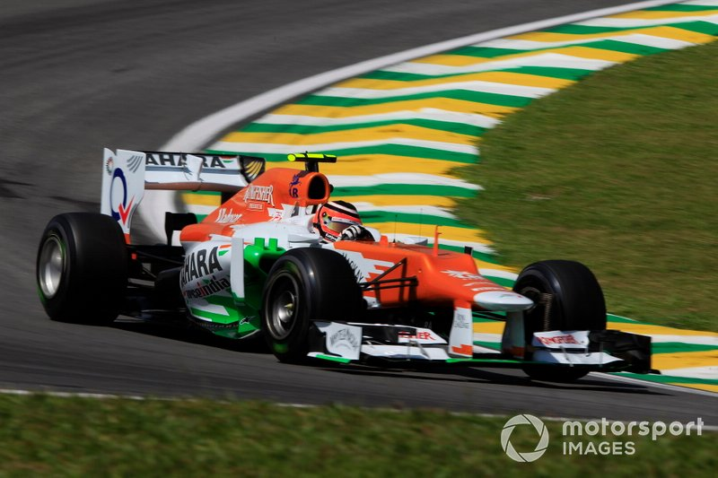 Leading a race (2012 Brazilian Grand Prix)