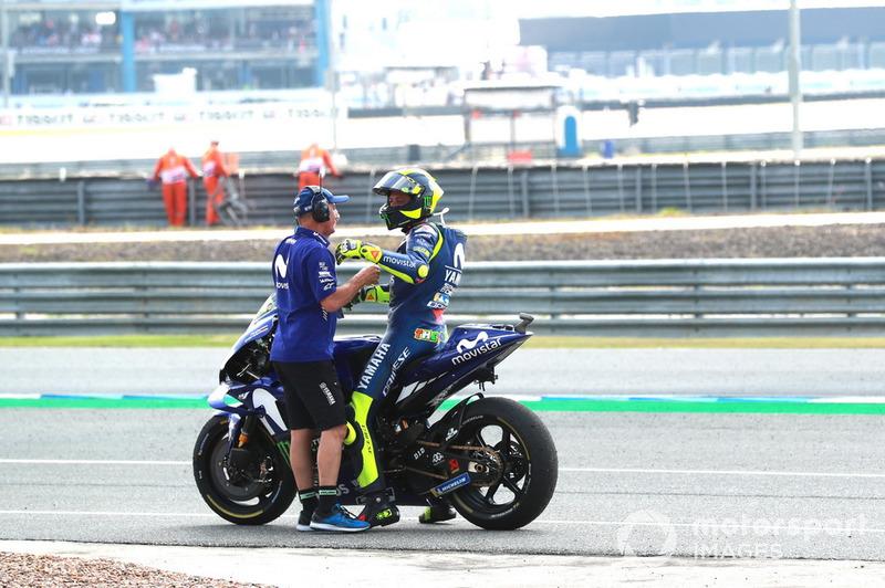 Люка Кадалора, Валентино Россі, Yamaha Factory Racing